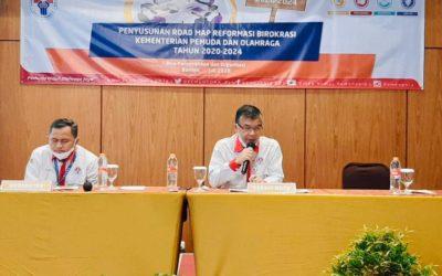 Biro Perencanaan dan Organisasi Kemenpora Susun Dokumen ROAD MAP RB 2020-2024